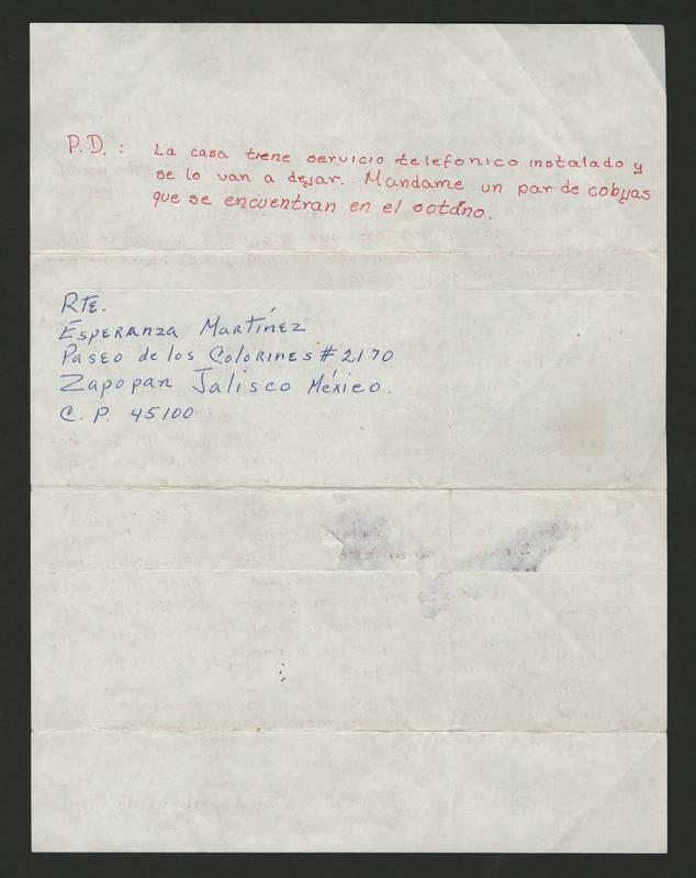 1986-04-30 Letter - back