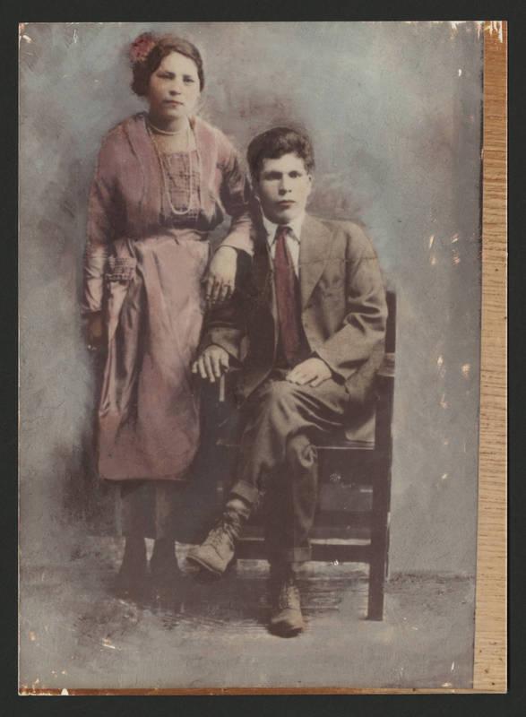 Esperanza and Cruz Martinez, 1920.
