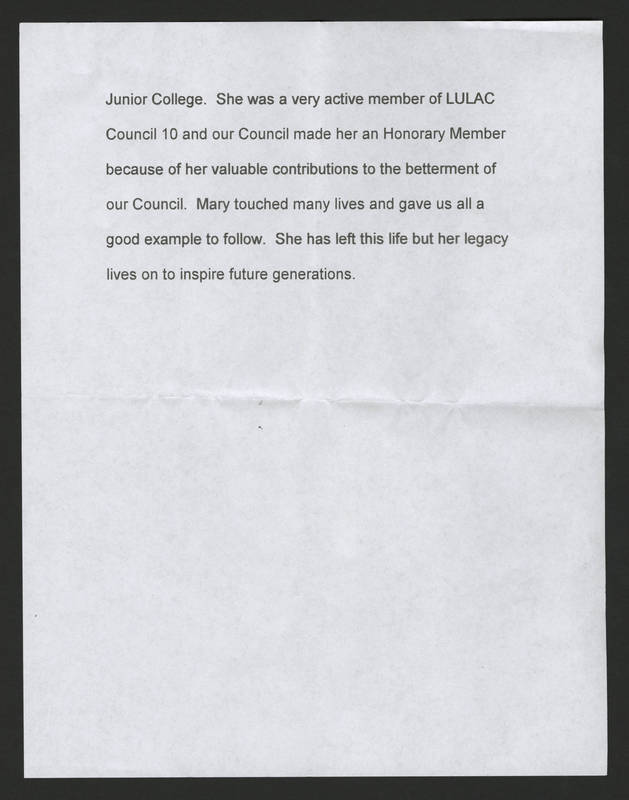 Ernest Rodriguez' Eulogy of Mary Terronez Page 3.jpg
