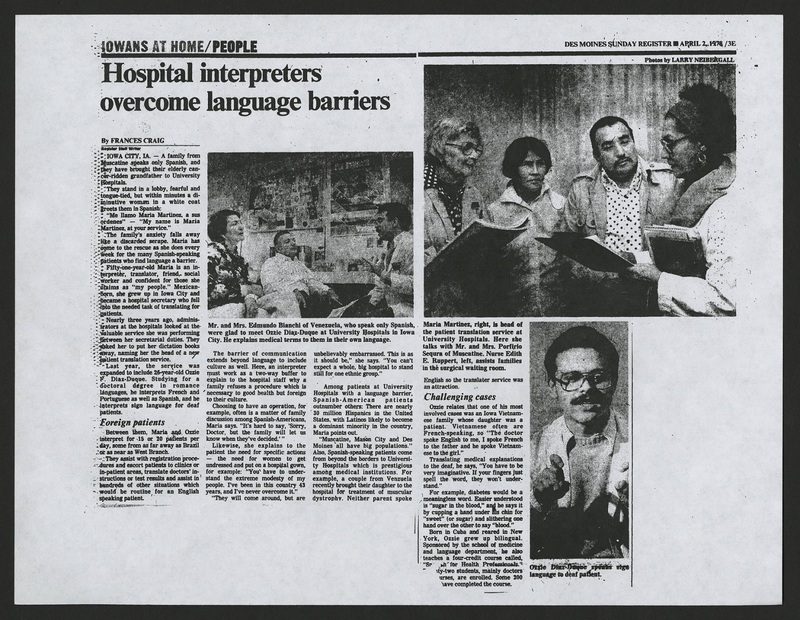 """Hospital Workers Overcome Language Barriers"""