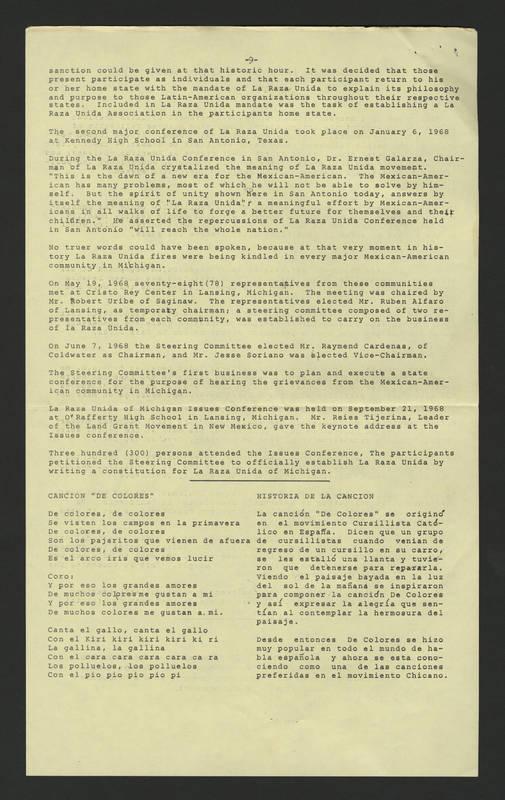"""1971-05-28 """"""""La Raza"""""""" Page 9"""