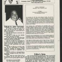 LULAC Council #10 Tribute to John A. Terronez, 1998