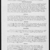Cook's Point economic survey report, 1963