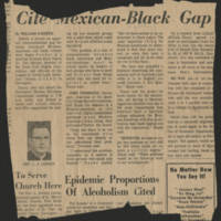 "John Terronez interviewed in article ""The Mexican-Black Gap"""