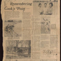 """Remembering Cook's Point"""