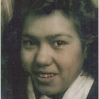 Photograph of Lucy Juarez, Davenport, 1940s.