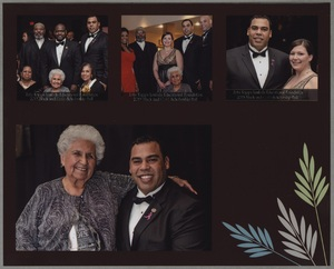 Mary Campos at the Zeta Kappa Lambda Educational Foundation 2013 Black and Gold Scholarship Ball