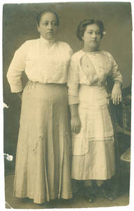 Photograph of Angela Morado and daughter Martina Morado (mother of Florence Vallejo Terronez)