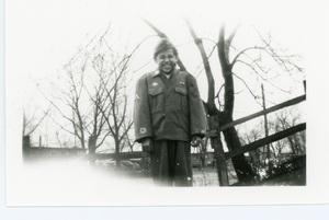 Joe Gomez, Cook's Point, Davenport, ca. 1942.