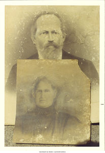 Paris and Adeline Adams, grandparents of Muggie Belva Adams