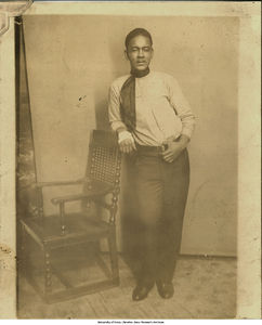 Photograph of Herman Glenn Rodriguez,  the oldest brother of Estefania Rodriguez