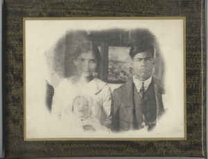 Photograph of Antonia and Federico Lopez, circa 1920s<br />