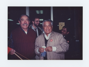 Henry Vargas with Cesar Chavez