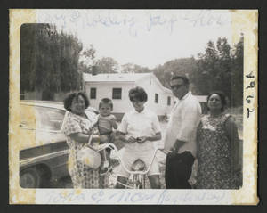 Some of Mary Terronez's family in Davenport, IA, 1962