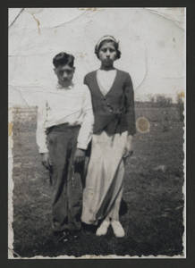 Frank and Florence Martinez, mid-1930's