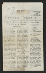 Scott County Young Democrats newsletter, 1959