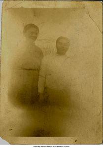 Mrs. Muggie Glenn and Norberto Garcia Rodriguez, 1910s?