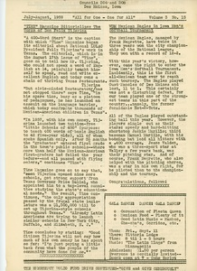 """LULAC News, Councils 306-308"" newsletter, July 1959"