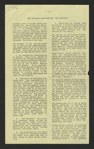 """A Columnas article on Sister Irene Muñoz's attendance at the formation of the national group of religious women known as """"Las Hermanas."""""""