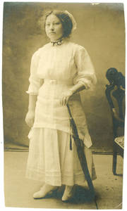 Photograph of Martina Morado at 18 years of age
