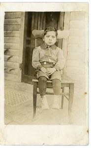 Bernardo Rodriguez Navello, Earlham, Iowa, 1922.