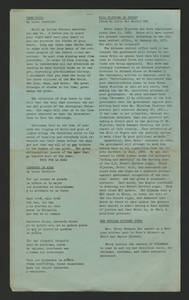 Columnas, Volume 2 No. 5, May 1970 - edited by Ernest Rodriguez