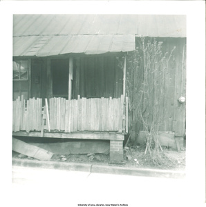 House where Muggie Belva Adams was born,  Gadsden, Ala., March 1966