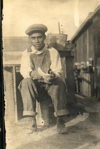 Gregorio Díaz, the son of María & Claro Díaz, El Cometa, Fort Madison, Iowa, 1920s.
